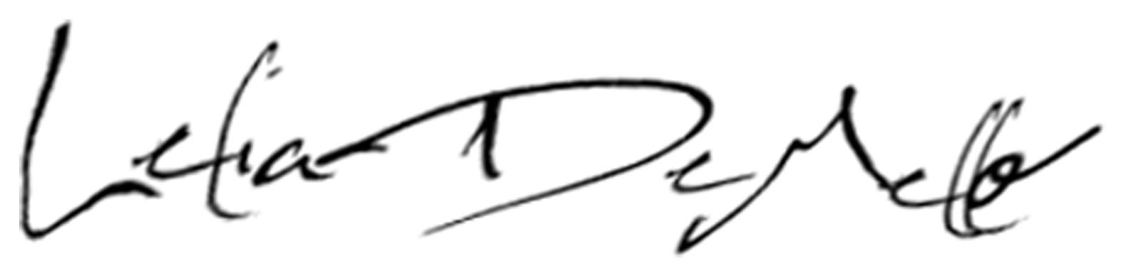 Lelia DeMello Signature
