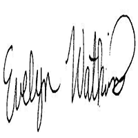 Evelyn WATKINS Signature