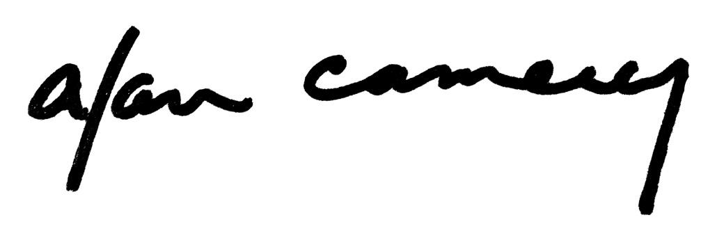 Alan Camerer Signature