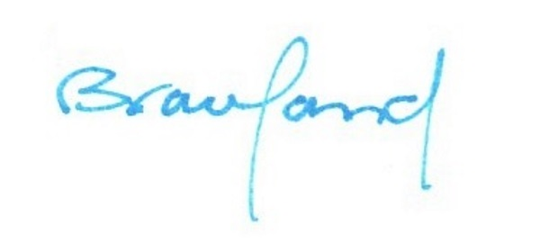 Kathy Braceland Signature