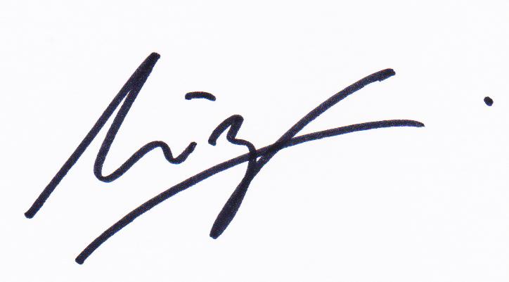 Mirzam Taiman Signature