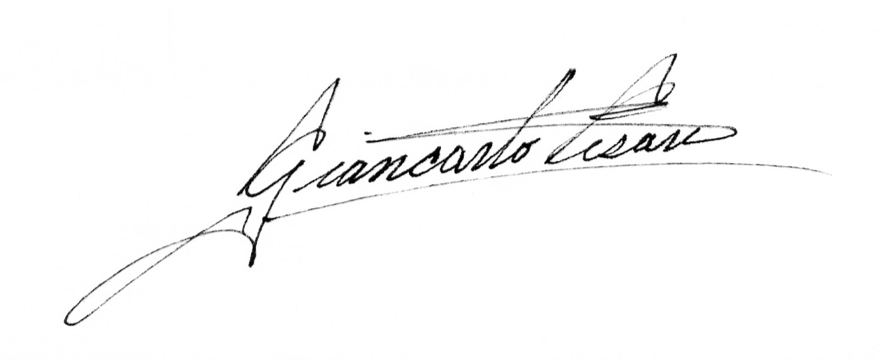 Giancarlo Cesari Signature