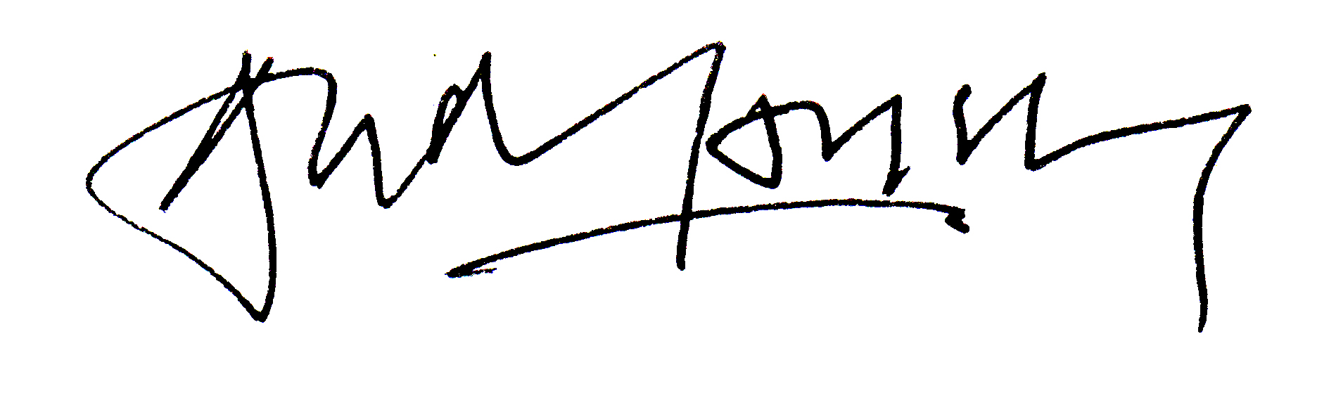 Andrew Lansley Signature