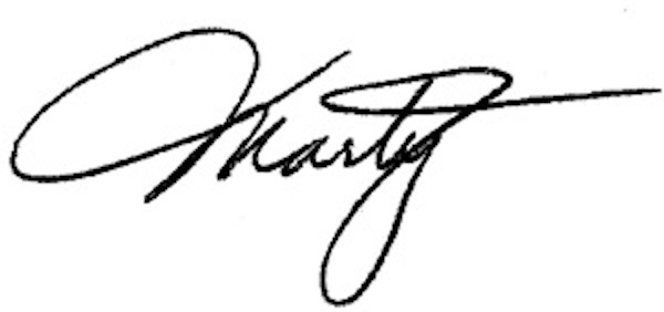 Marty Edmunds Signature