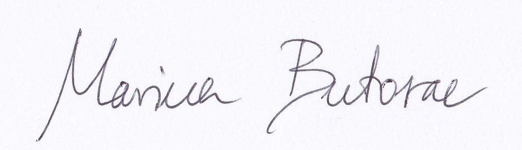 Marina Butorac Signature
