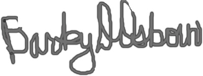 Barby Osborn Signature