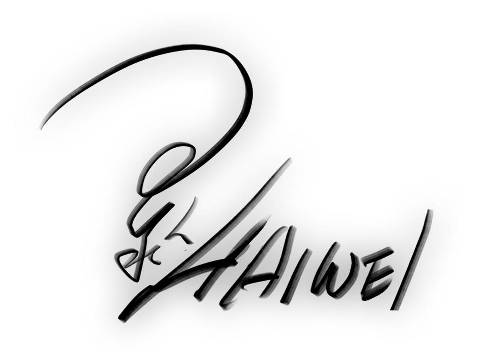 Haiwei Hou Signature