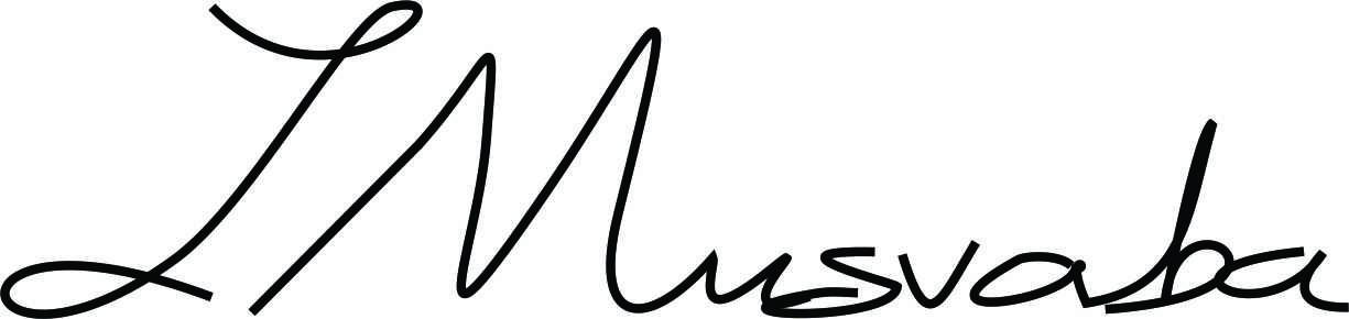 Jonathan Musvaba Signature