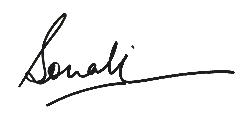 Sonali Kukreja Signature