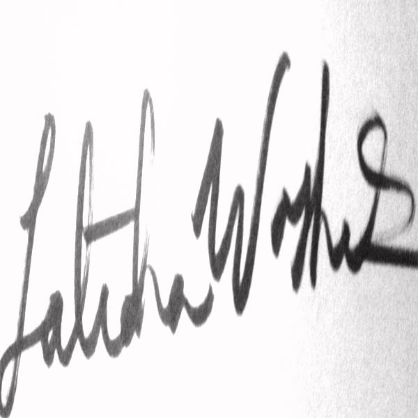 Latidra Washington Signature