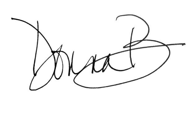 Donna Balsavich Signature