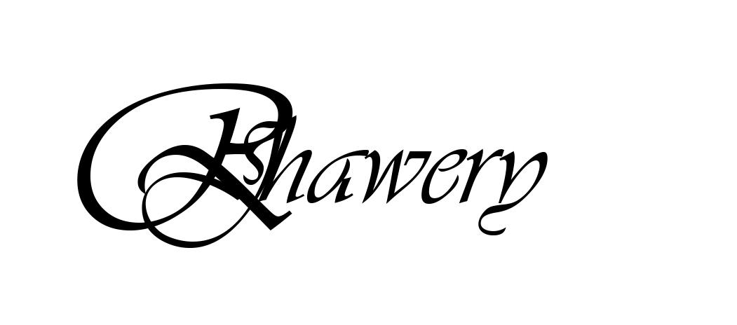 Romaana Jhawery Signature