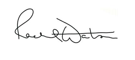 Rachel Watson Signature