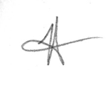 Tracy  Ahrens Signature