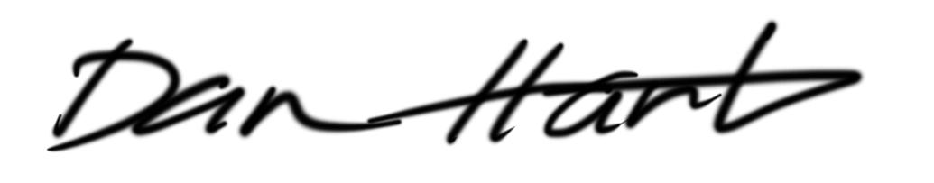 Dan Hart Signature