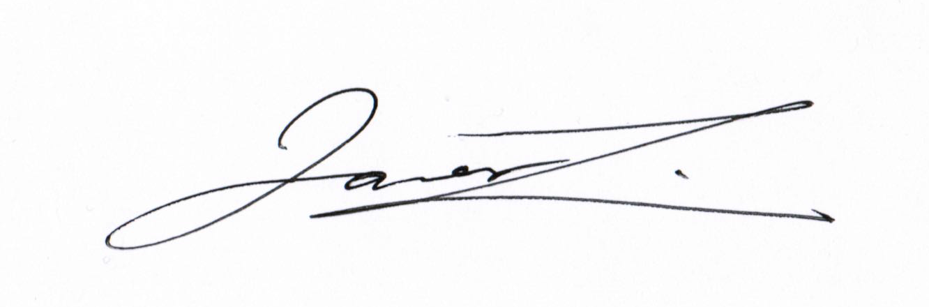 James Liu Signature