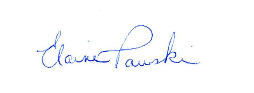 Elaine Pawski Signature
