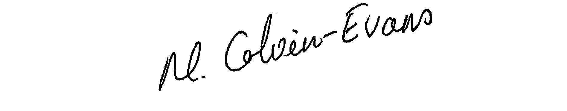 Moya Colvin-Evans Signature