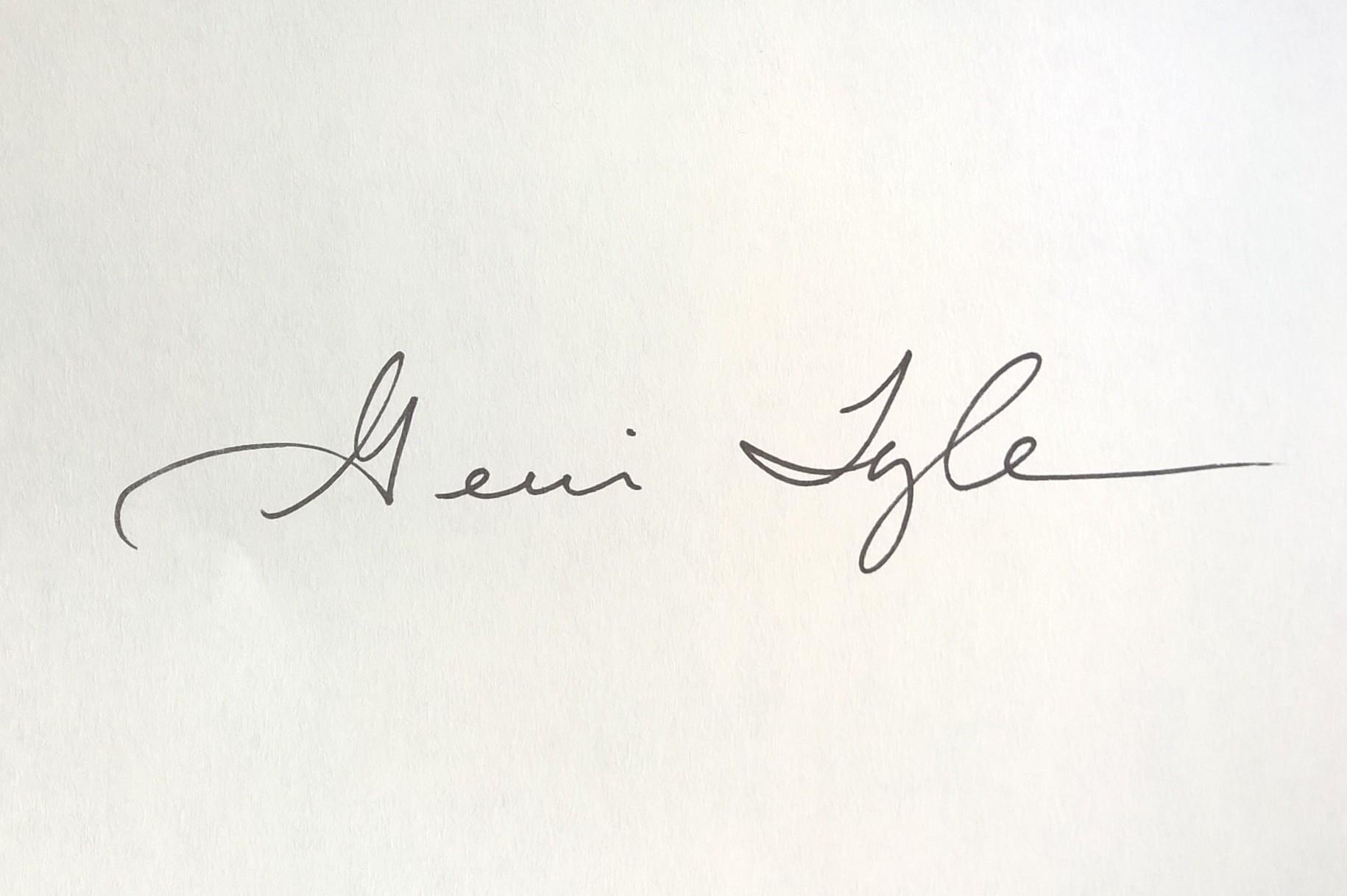 Gerri Tyler Signature