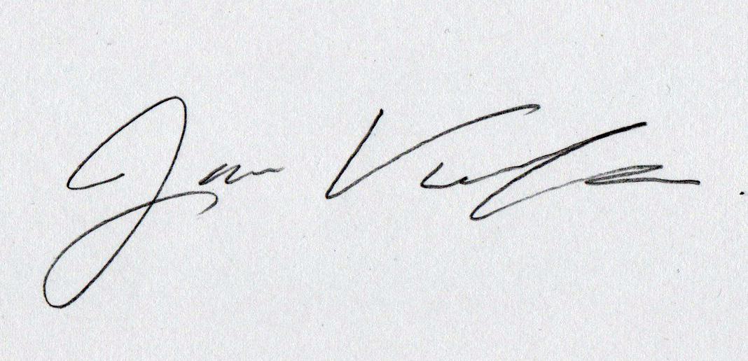 Jamie Villegas Signature