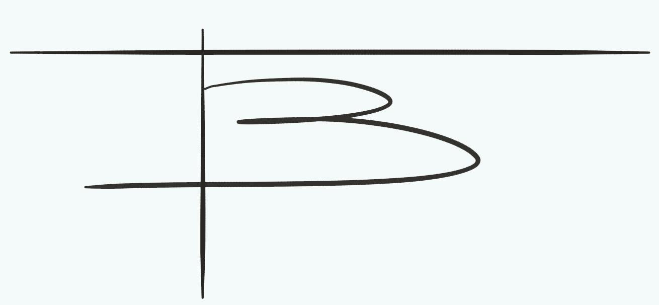 benedicte blanc-fontenille Signature