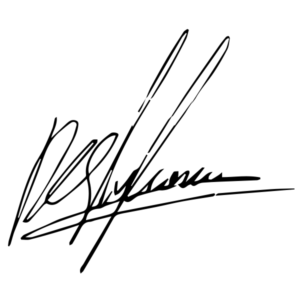 Peter Stylianou Signature