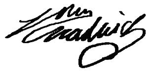 John  Chadwick Signature