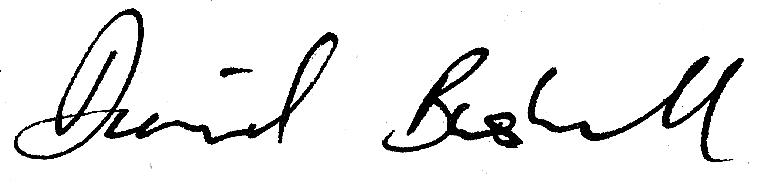 David Bushell Signature