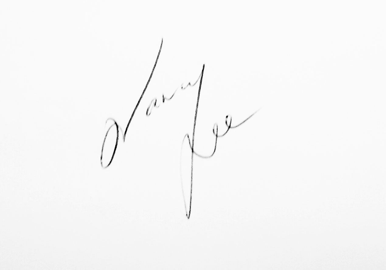 Nancy Lee Signature