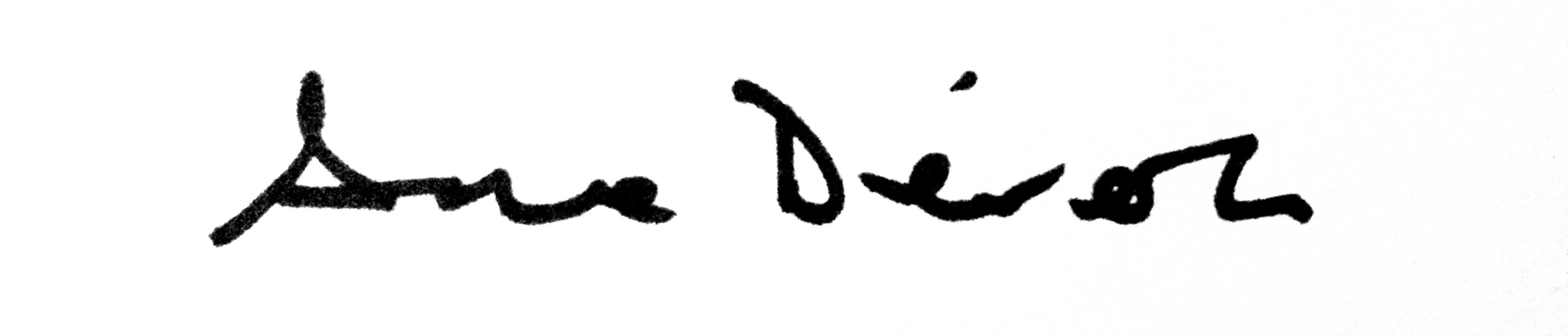Ana Dévora Signature