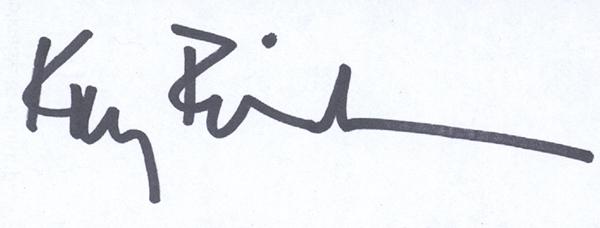 Kay Erickson Signature
