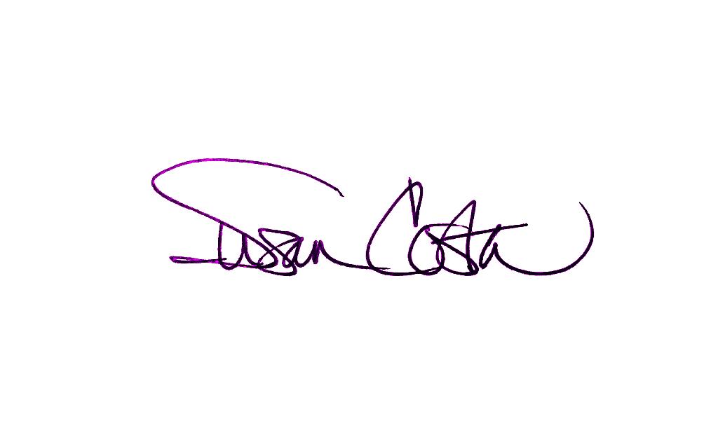 Susan Costa Signature