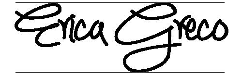 Erica Greco Signature