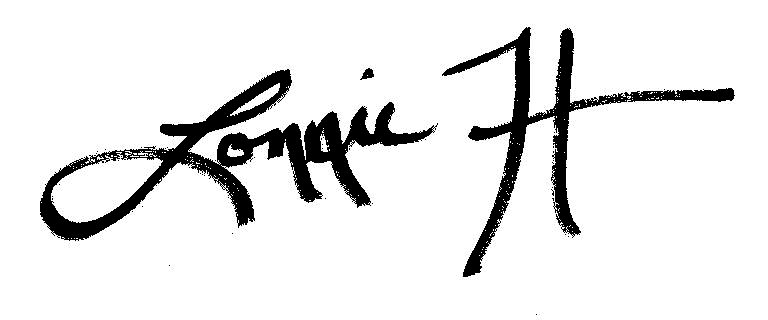 Lonnie Harkins Signature