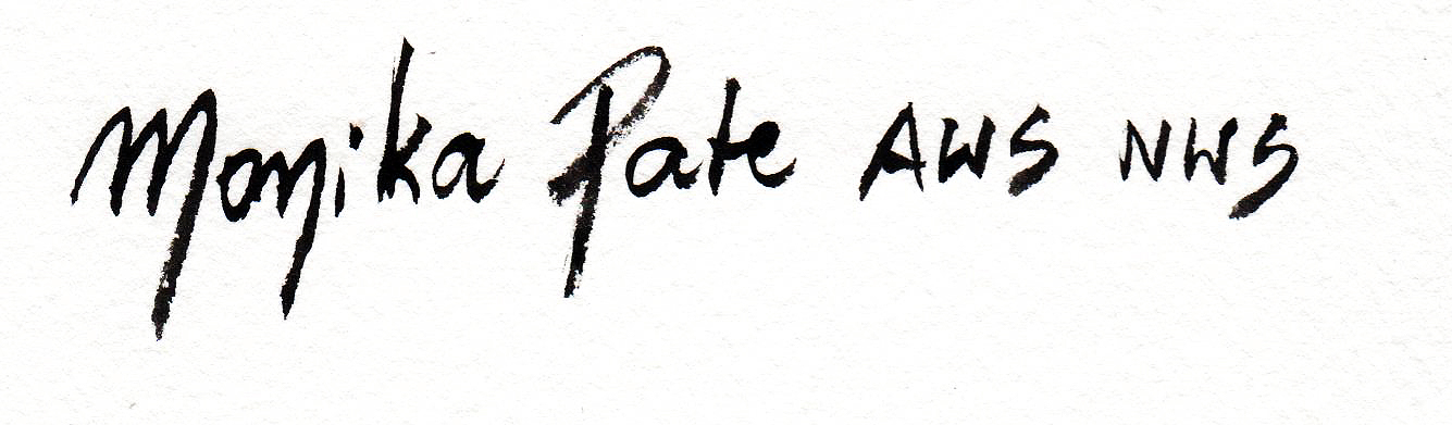 Monika Pate Signature