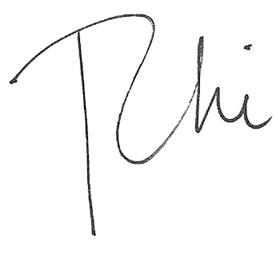 Rhiannen john Signature