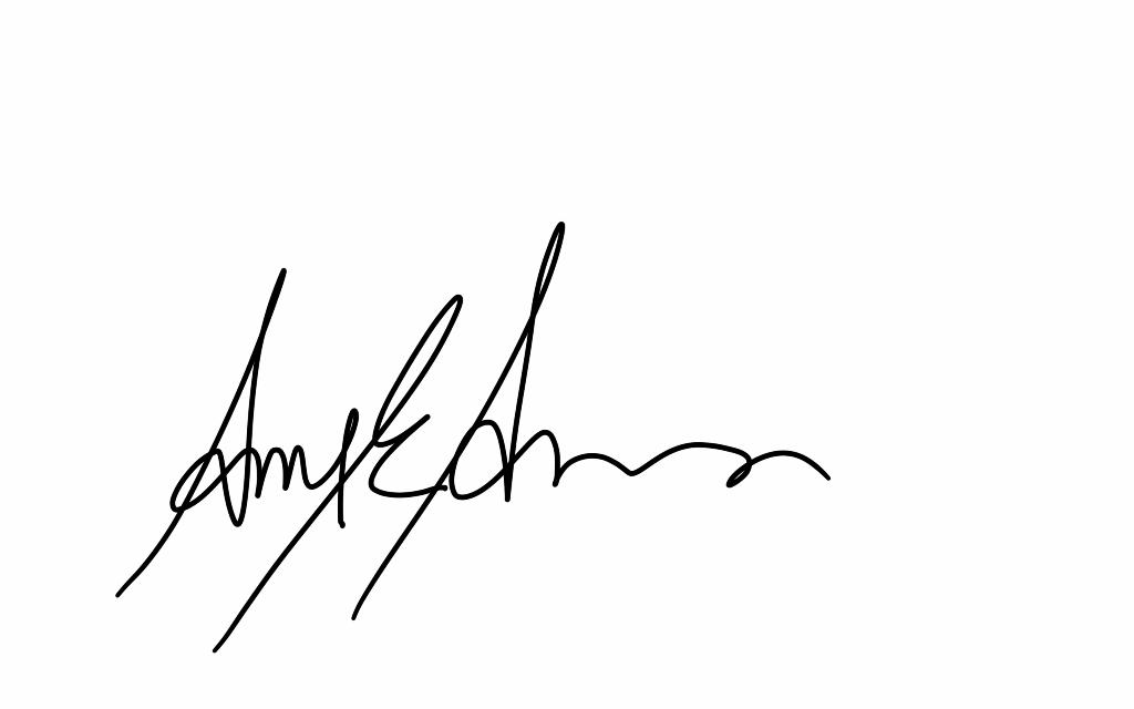 Amy Anderson Signature