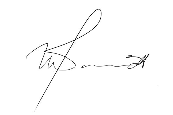Thawlib Davids Signature