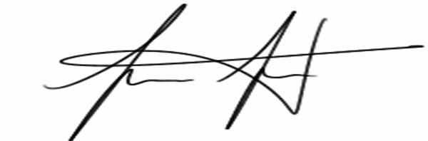 Javier Toledo Signature