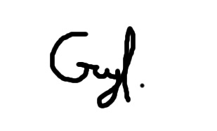 Guy Geva Signature