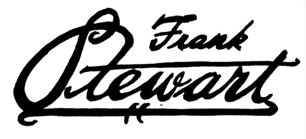 Frank Stewart Signature