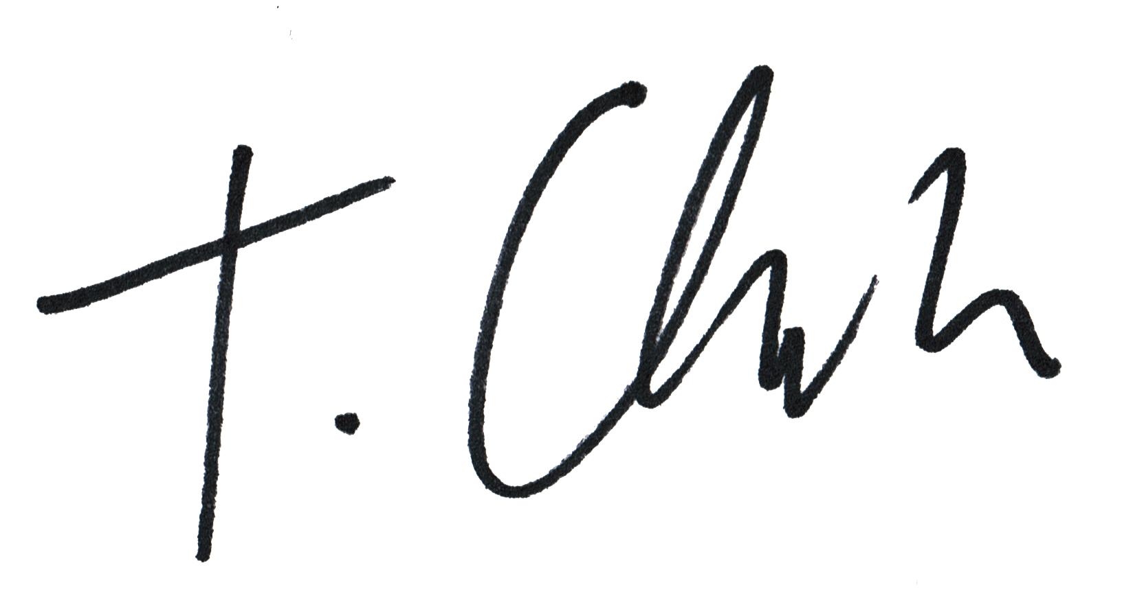 Tom Clark Signature