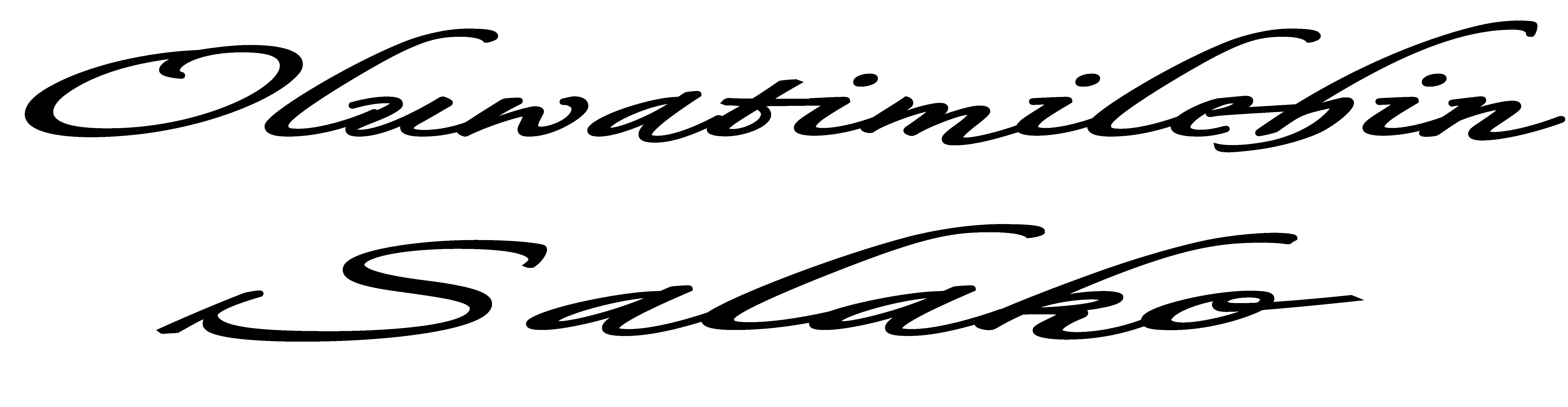 Oluwatimilehin Salako Signature