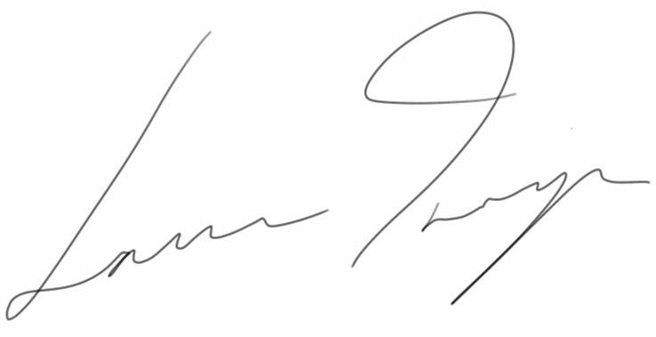 Laura Inniger Signature