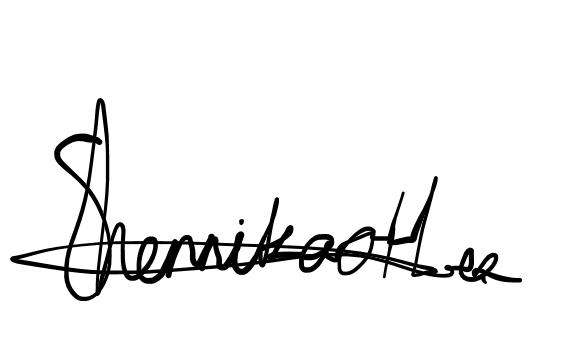 Shennika Hermanstyne Signature