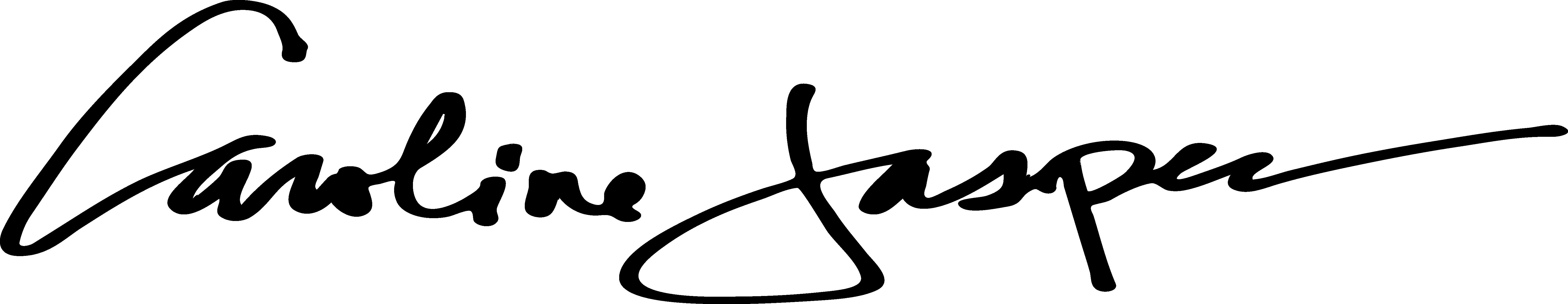 CAROLINE JASPER Signature