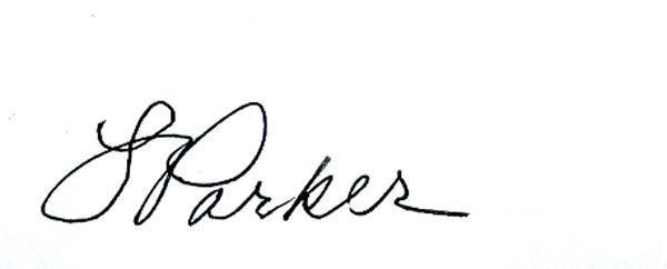 Linda Parker Signature