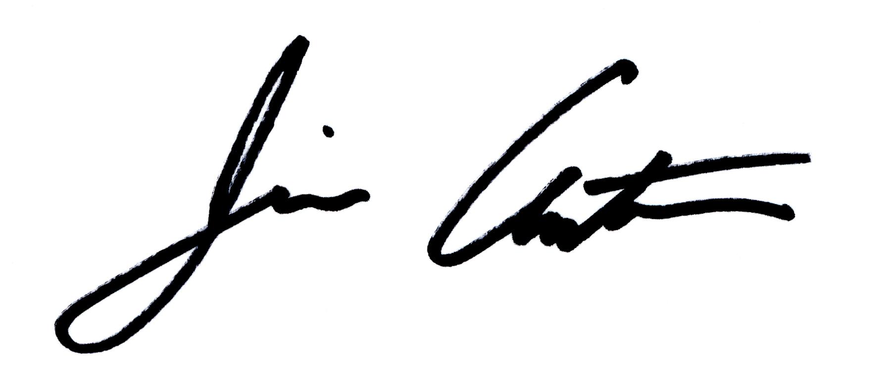 Jim Antonucci Signature