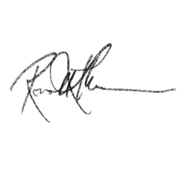 Ronald Munar Signature