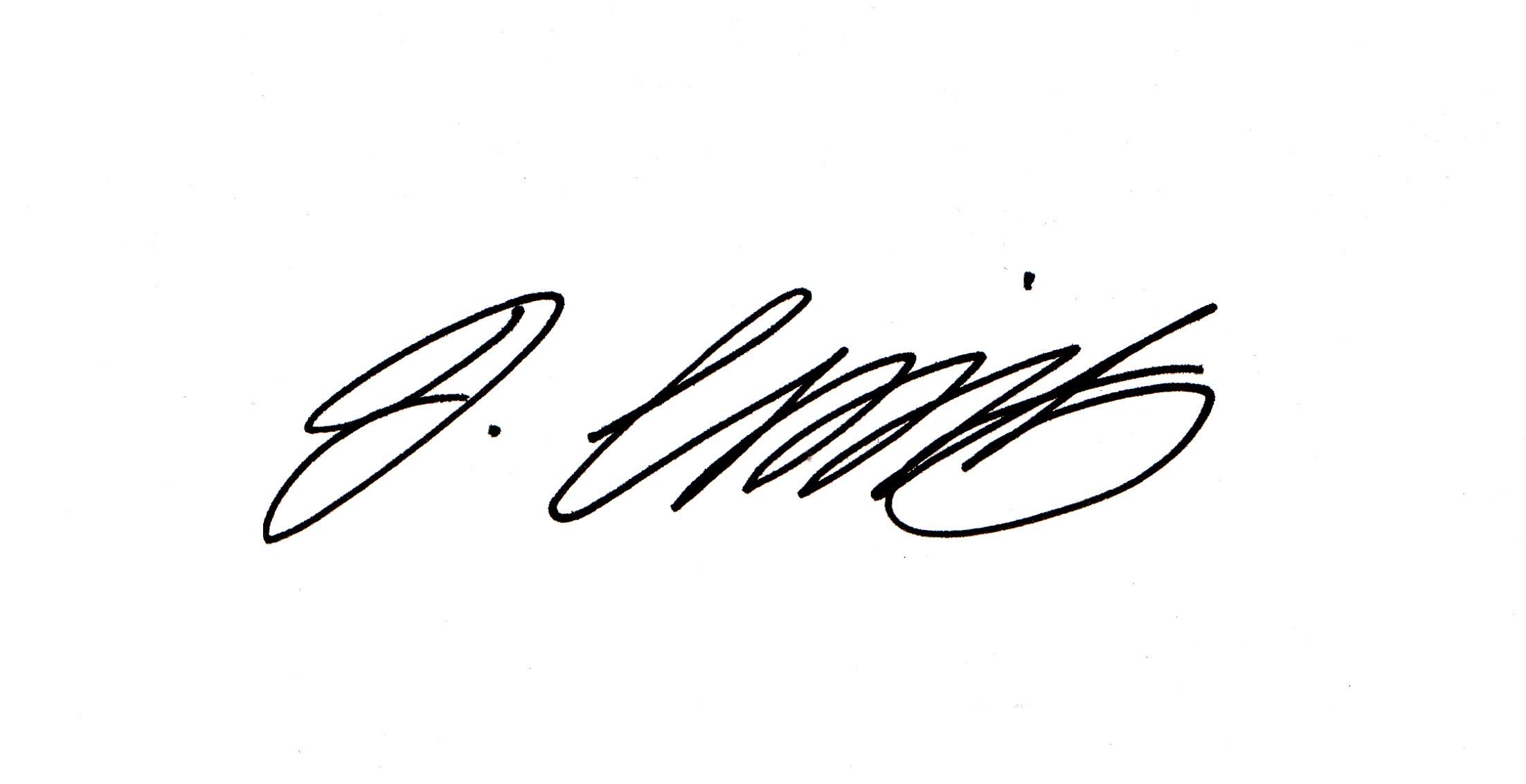 JENNIFER Camilleri Signature